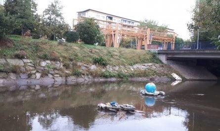 Kunst und Müll im Chemnitzer öffentlichen Raum