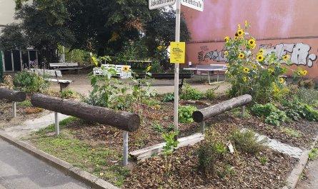 Der Zietenpark in Chemnitz