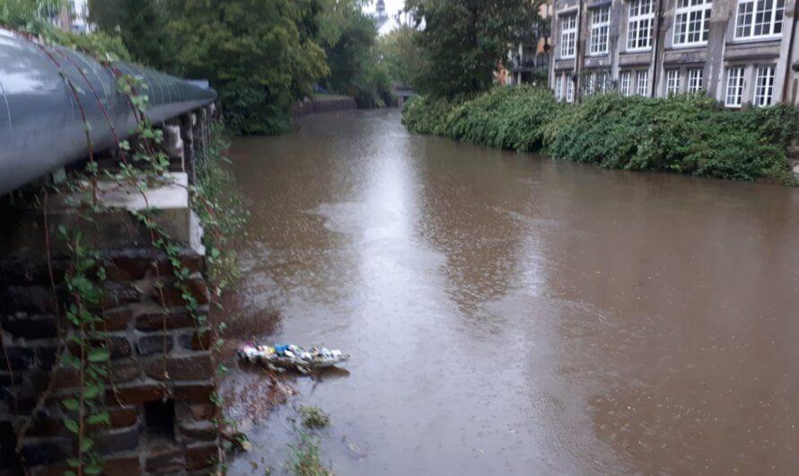 Was ist mittlerweile auf dem Fluss passiert?