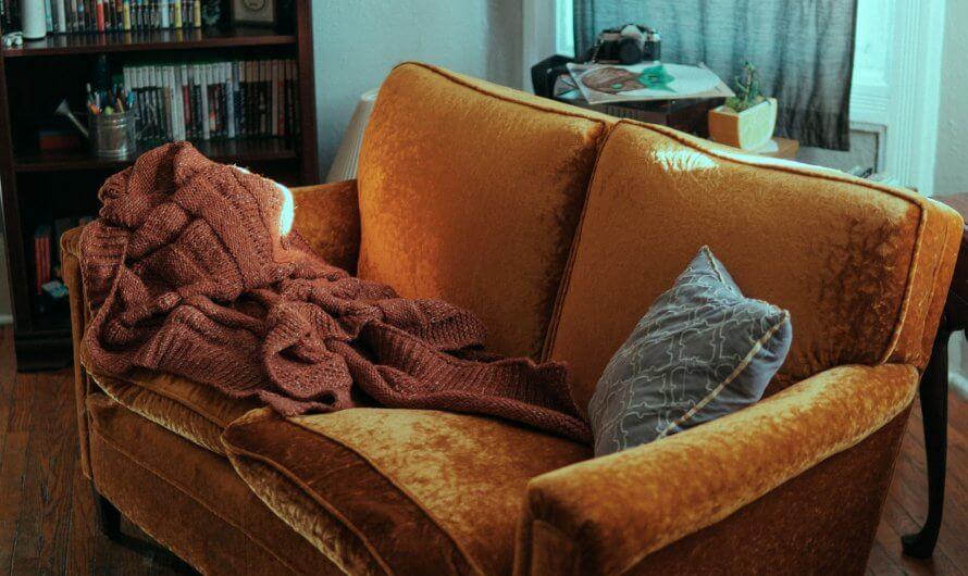 Gedanken auf dem Sofa