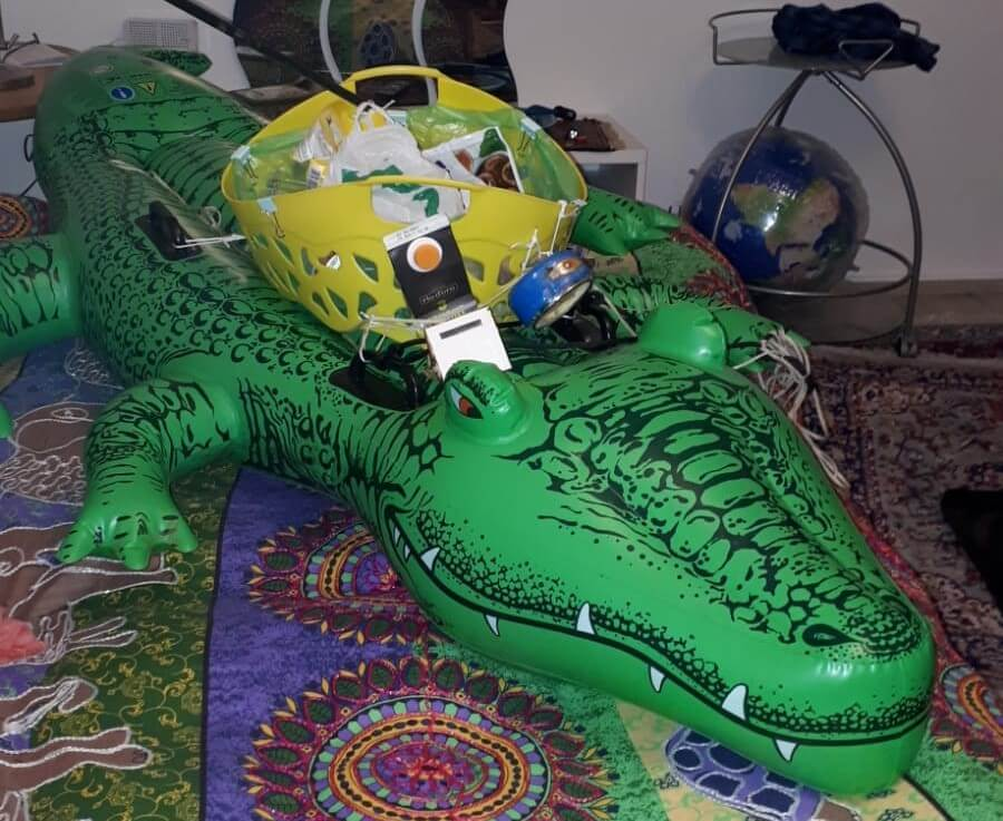 Das Kroko-Müll wurde gerettet